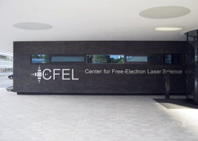 CFEL-Center for Free-Electron Laser Science:  FOAMGLAS-Dämmarbeiten Center Hamburg