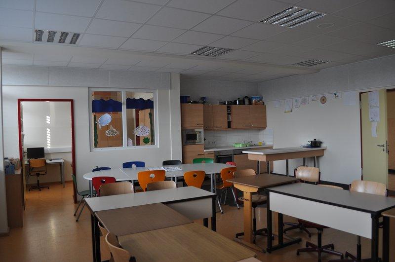Förderschule am Dannenhalm in Jever:  An- und Umbau Bestandsgebäude